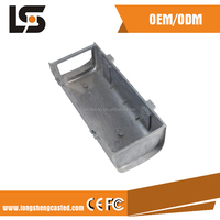 OEM industry product CCTV camera housing IP66 Aluminum Alloy die casting parts for bullet camera housing