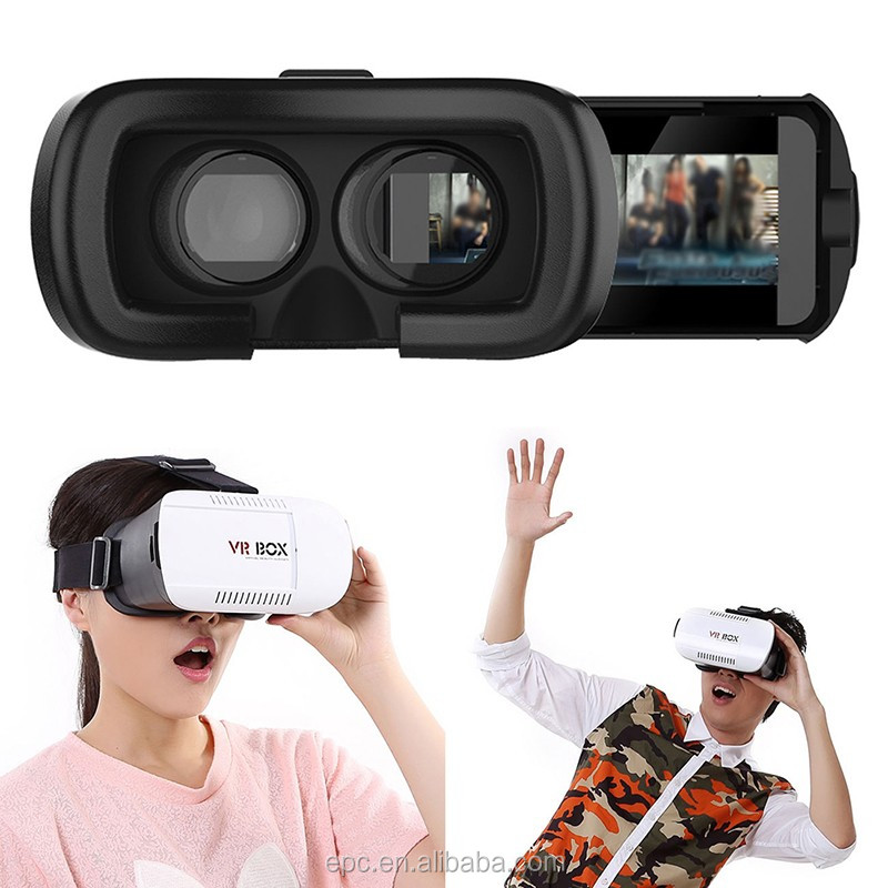 Trending hot products 2016 Head Mount Plastic Version VR Box 2nd Virtual Reality 3D Glasses