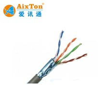 New Material Elastic Flame Proof Flat 3.0x8.0x3.0 Cat5e Cat6 Power Elevator CCTV Cable with Steel Rope Reinforce