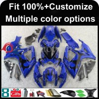 INJECTION MOLDING panels For Suzuki K6 GSX-R600 GSX-R750 2006 2007 GSX R GSXR600 GSXR750 black flames GSXR 600 750 Fairings Set