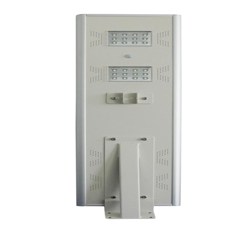 High lumen outdoor ip65 25w all in one solar led street light