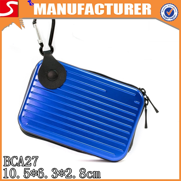 Alibaba China wholesale waterproof hard aluminum alloy camera bag with cotton shock liner