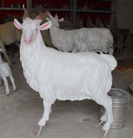 New design life size resin sheep