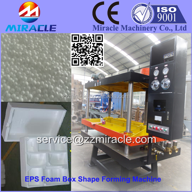 High quality EPS foam block molding and forming machine, foam box forming machine price