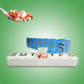 Most popular weekly plastic box for pill storage