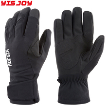 Warm heated hand weatherproof ski gloves with non-slip for skiing snowboarding skating