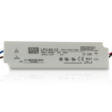 Meanwell waterproof led power supply LPV-60-48 60w 48v dc