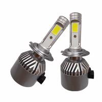 super bright led headlight bulb h7 yellow color led light bulb auto headlights