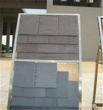 Black Blue Roof Slate Tile,Roofing Slate with Chipped Edge