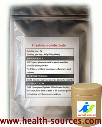 Micronized Creatine monohydrate for nutritional enhance