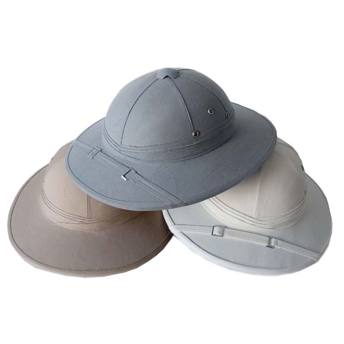 Adults size real vietnam soft pith helmets