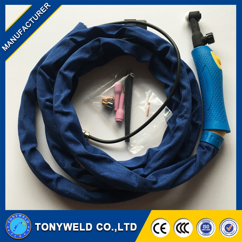 weldcraft welding tig torch wp26 air cooling valve tig torch