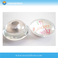 wholesale blank and clear acrylic fridge magnet