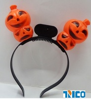 led Pumpkin calabash head band of halloween day