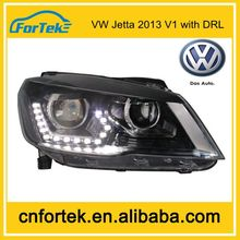 Best selling!Top Quality Low Price Car front Headlight for VW Jetta V1with drl 2013 made in china