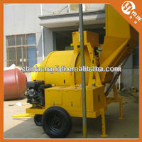 350L Hydraulic Discharge Concrete Mixer Prices with Diesel Engine