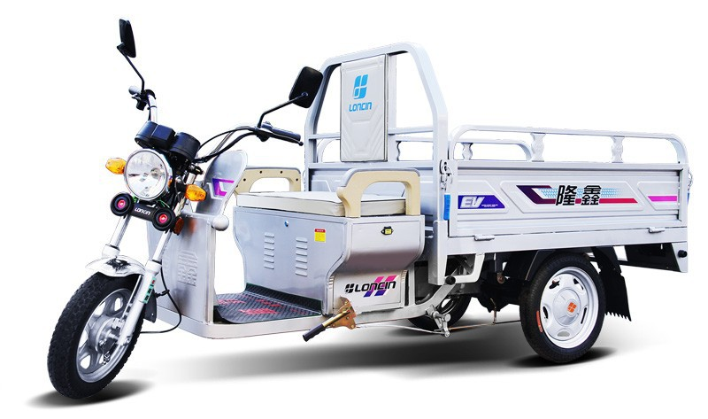 Loncin 800W adult electric tricycle for cargo or transportation/three wheel motorcycle