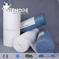 Hospital Disposables Medical Gauze Roll With