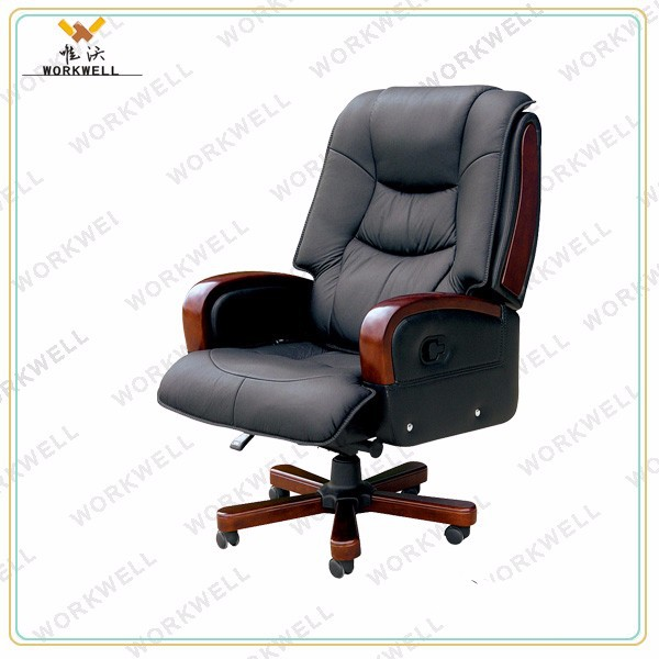 WorkWellpu leather swivel executive office chair Kw-EX07