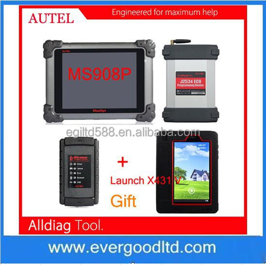 Autel MaxiSys MS908P Pro for Diagnostic and Reprogramming with Launch X431 V Gift with Fast Shipping