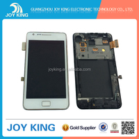 mobile phone lcd screen for samsung galaxy s2 display complete assembly