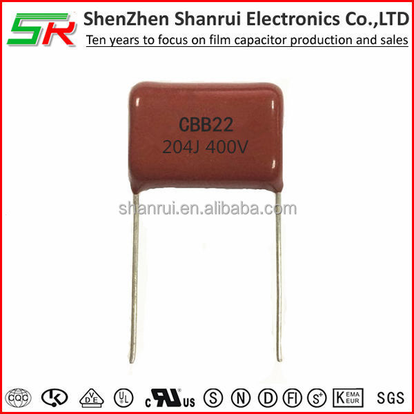 cbb22 630v 105j high quality film capacitor /1uf capacitor