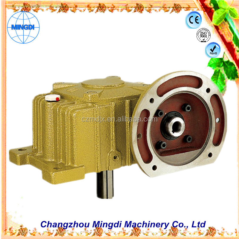 changzhou machinery WPO/WP Cast Iron small Worm Transmission Gearbox Parts with diesel engines small reverse transmission