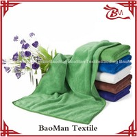 Baoman wholesale well sell microfiber quick dry towel for clean car kitchen