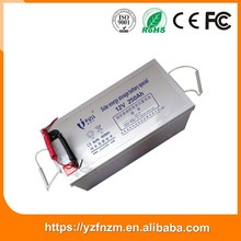 good quality discount solar energy storage battery deep cycle 12v 250ah made in China durable