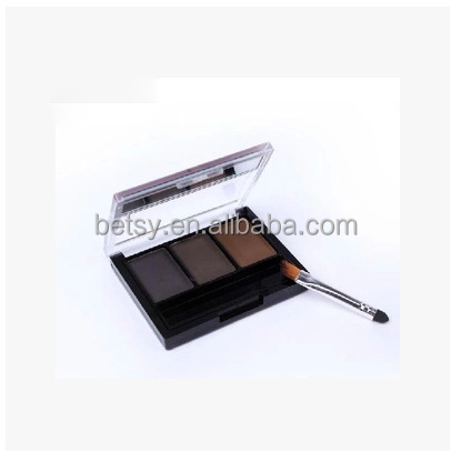 Trio modeling eyebrow powder with eyebrow cream