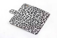 new products leopard pu leather flip magnetic wallet stand phone case for Iphone 6S