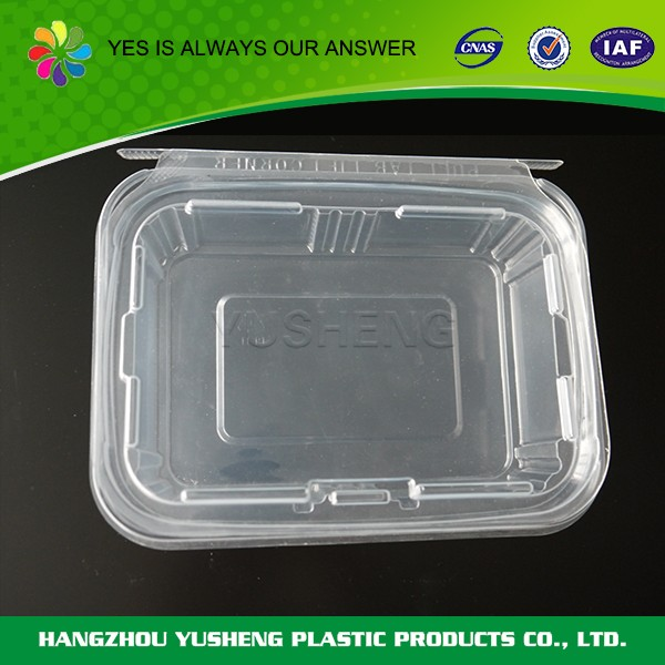 Special design widely used disposable plastic promotional container