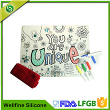 Reusable DIY Painting Silicone Mat For Kids Factory