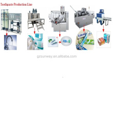 Toothpaste Production Cost Vacuum Paste Making Machine