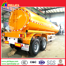 2 Axle 30M3 Oil Tank Semi Trailer/Small Fuel Tanker Trailer