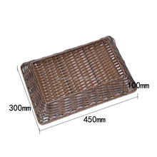 High quality machine grade pest free synthetic rattan basket