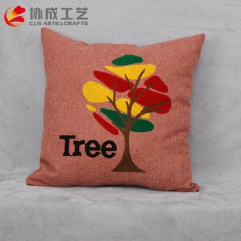 Hot Sale customized Appliqued Cushion