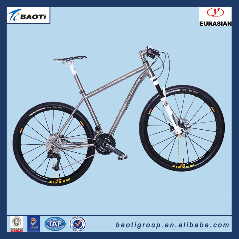 BAOTI HASA titanium folding road bike
