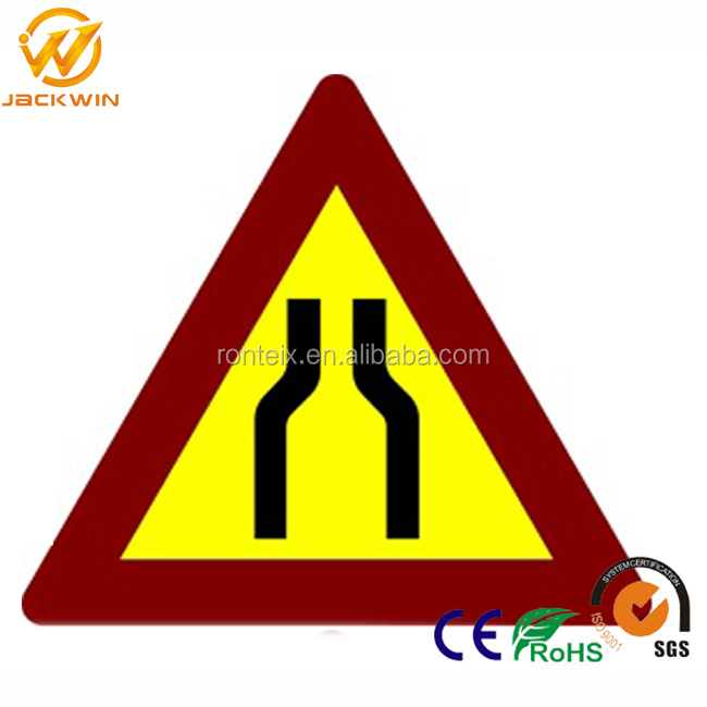 High Reflective Aluminum Traffic Sign Board / Road Signs / Traffic Signs