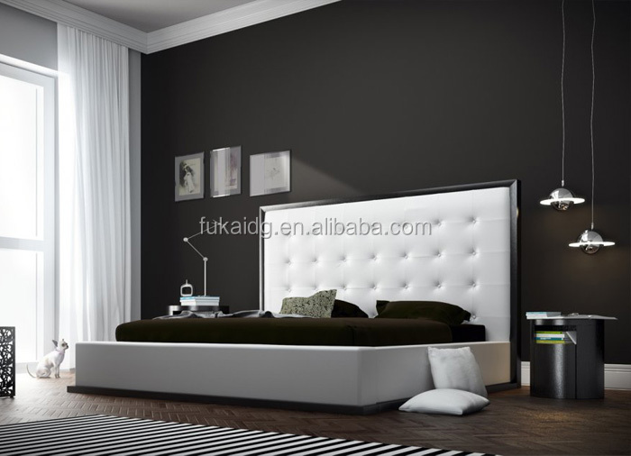 alibaba express latest design contemporary beds king beds furniture made in china