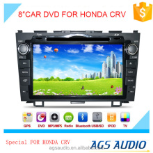 8 inch car dvd gps navigation for HONDA for CRV system with TV/Bluetooth/iPod/RDS/mp3/radio