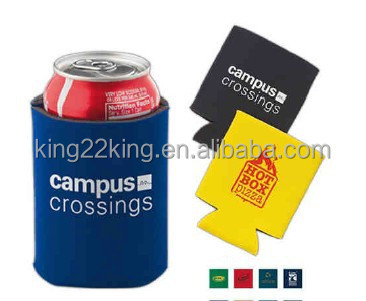 Heat transfer printing 3mm neoprene can cooler