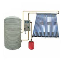 Hot sale vacuum tube split pressure solar water heater