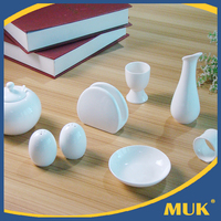Airline manufacturer stock supply elegant white homeware ceramic dinnerware