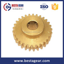 Module 0.1 - 0.8 , teeth 20, high precision miniature brass gears