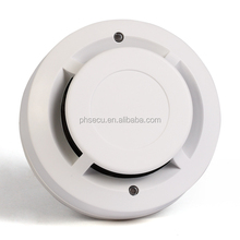 2 wire CE approved Photoelectric Smoke Detector with LED indicator