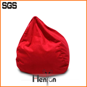 custom printed pear fire retardant vinyl beanbag chair