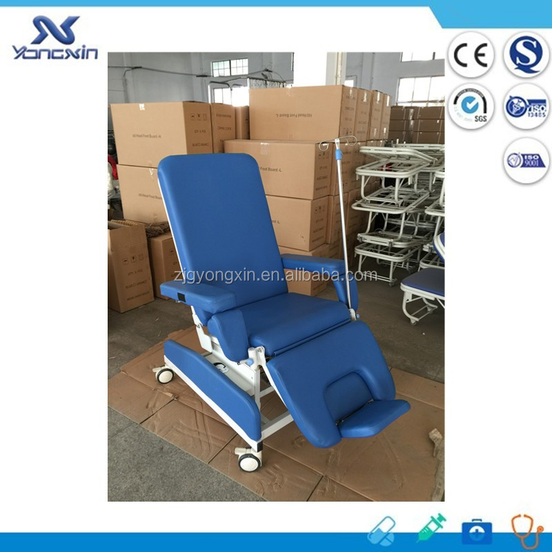 YXZ-031D Luxury patient blood donation chair phlebotomy chairs for sale