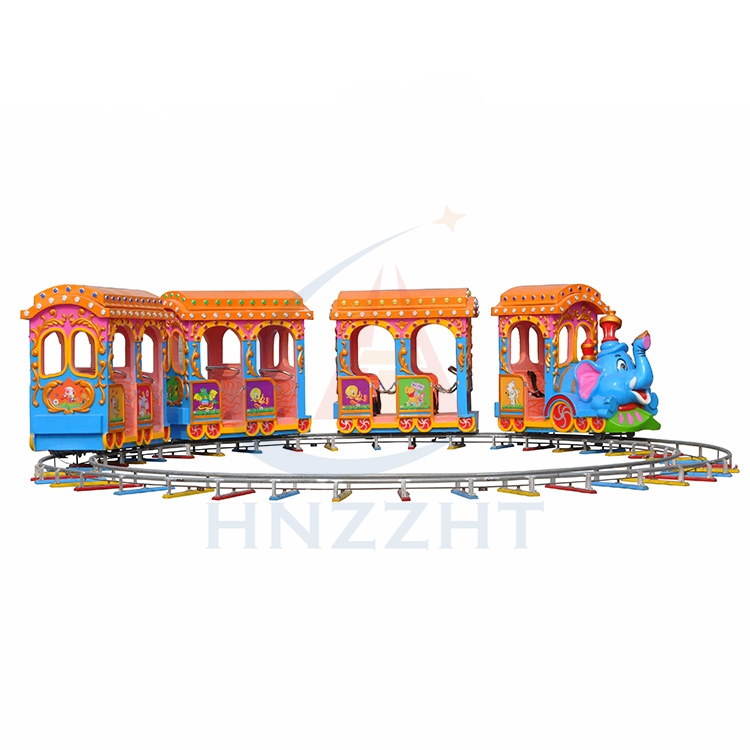 Fitness Playground Amusement Outdoor Kids Amusement Track Train for Sale