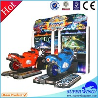 Hot sale 47 inch Soul of racing Popular indoor amusement motorcycle game machine,motorcycle racing simulator